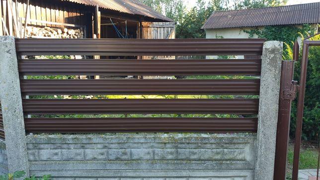 Przesło metalowe do ogrodzeń betonowych nowoczesny wygląd nowość!
