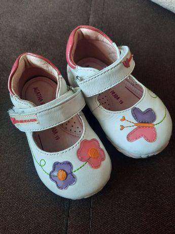 Шкіряні туфельки 19 розмір, кожаные туфельки