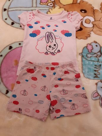 Пижамка с коротким рукавом