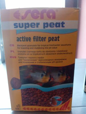 Active filter peat firmy sera