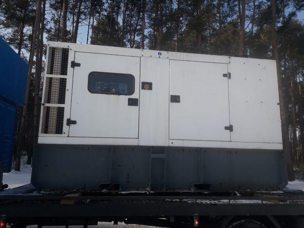 Agregat prądotwórczy 150kVa ok 120kW /prądnica LEROY SOMER z 2019r/