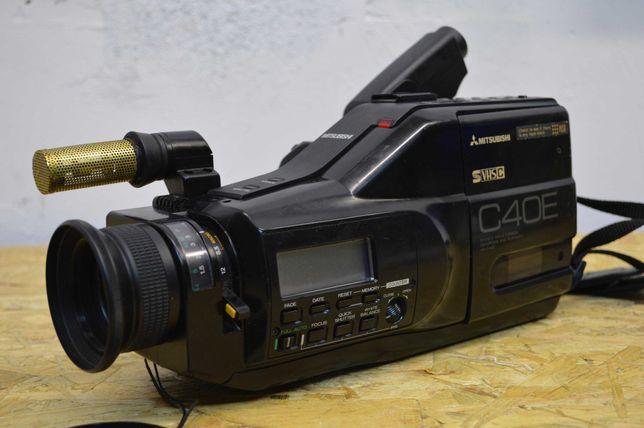 Stara Kamera Mitsubishi C40E na kasety VHS Super Stan Sony