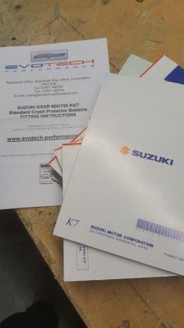 Material Suzuki gsxr 600 k6 k7 k8 k9 l0