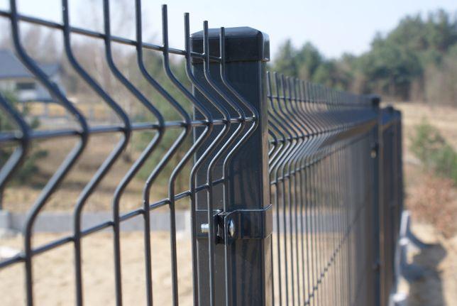 Panel ogrodzeniowy, Panele ogrodzeniowe 1,23m fi4mm, antracyt