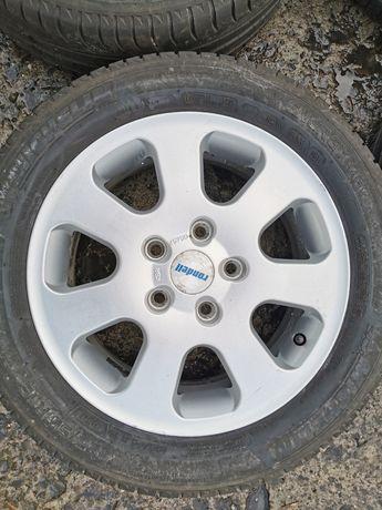 4x Alufelgi 15 cali - VW Seat Skoda - 5x112 - 6J - 57,1 - ET45