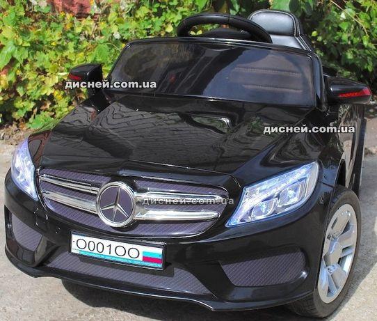 Детский электромобиль 2772 BLACK , Mercedes Дитячий електромобiль