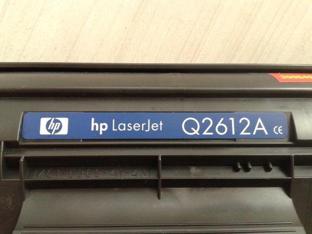 Картридж HP 12A Black (Q2612A) оригінал