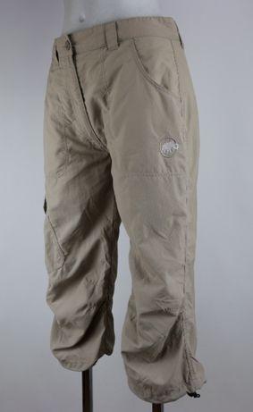 Mammut spodnie outdoorowe spodenki trekkingowe 3/4 M