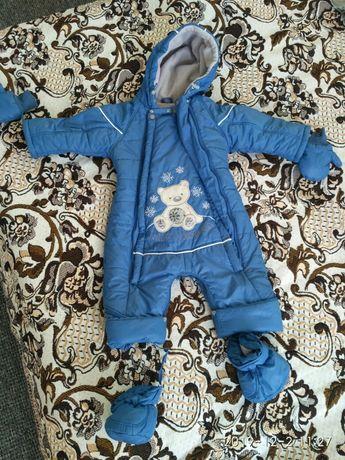 Продам детский зимний комбинезон - трансформер