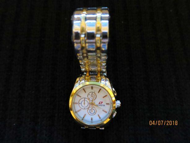 Годинник жіночий наручний кварцовий Geneva у подарунковому футлярі