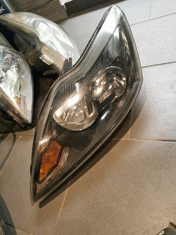 Lampa lewa przód przednia Ford Focus mk2 lift 09r Anglik