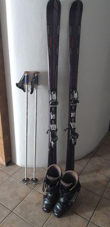 Kit para esquiar: botas, pesquisa  bastões!
