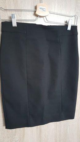 Czarna ołówkowa spódnica H&M
