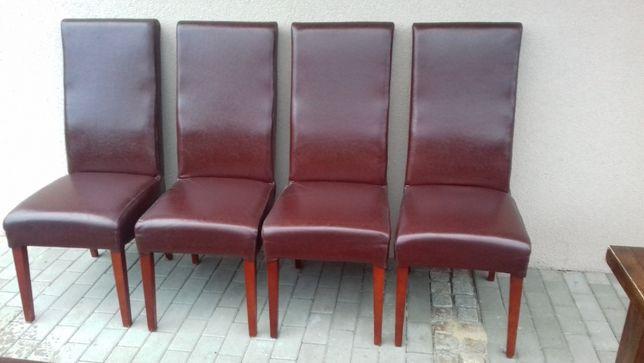 Krzesła PILNE ! - skóra naturalna