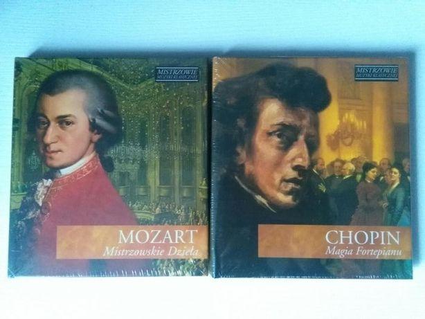 Płyta CD- Mozart i Chopin. Muzyka klasyczna