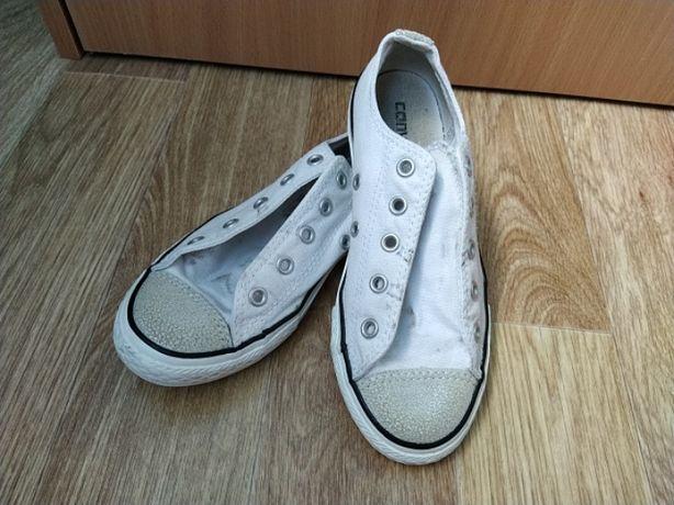 Converse кеды, белые кеды