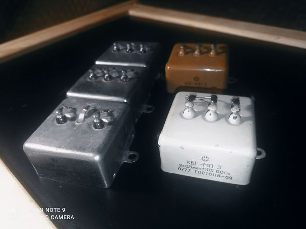 Конденсатор КБГ-МП (1 мкФ)