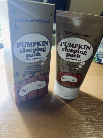 Ночная маска Pumpkin sleeping pack