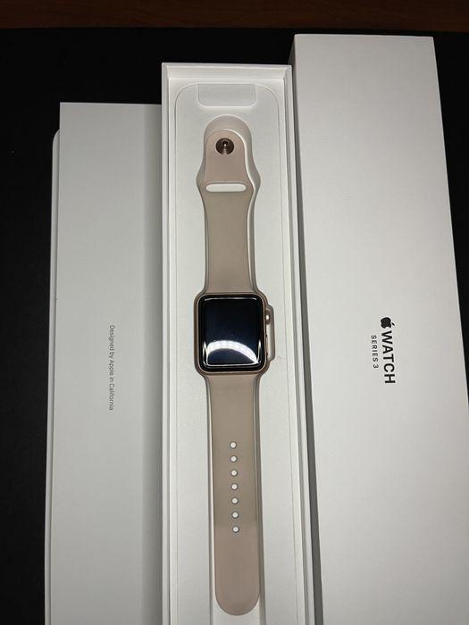Apple Watch 3 series 42mm Gold Aluminum Донецк - изображение 1