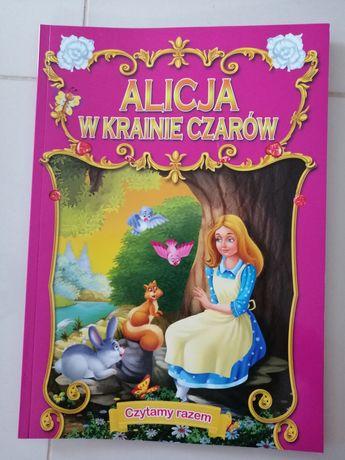 Ksiazki do czytania Alicja w krajnie czarow, mala syrenka, bambi