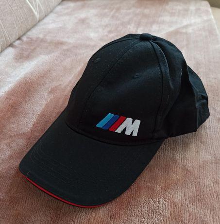 Czapka z daszkiem bejzbolówka haft logo BMW  NOWA  czarna