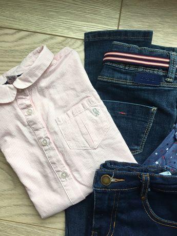 Okai garnitur dla dziewczynki o wzroście 116 cm: spódnica, spodnie i 2