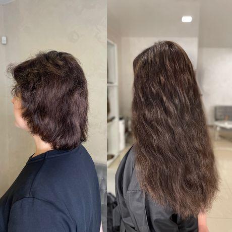 Будь шикарной уже сегодня! Наращивание волос 1200 грн жк София
