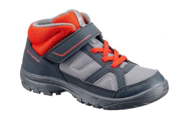 Детские демисезонные ботинки кроссовки Quechua стелька 21см