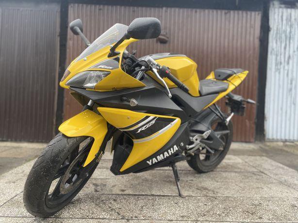 Yamaha YZF-R125 TZR kat. B A1 2008 r zamiana