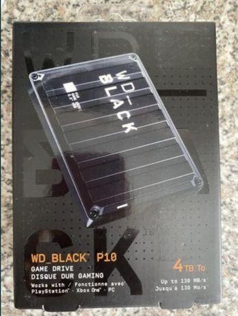 Жёсткий зовнішній диск Wd black p10 game drive 4 tb
