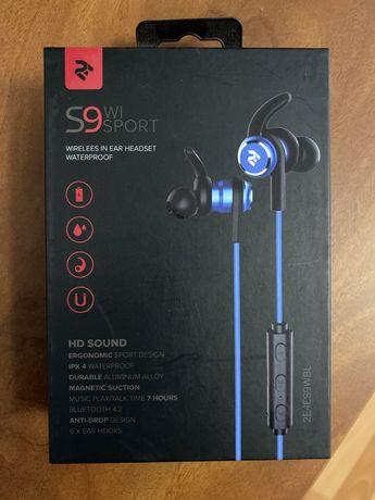 Наушники 2E S9 WiSport Wireless Blue