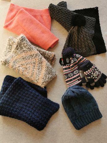 Kominy, czapki, rękawiczki