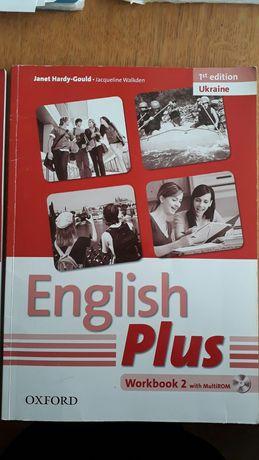 Продам две тетради English Plus + диск