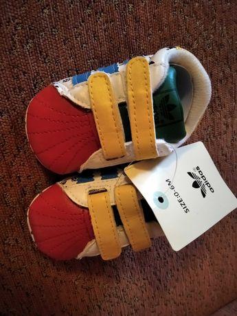 Buciki buty niemowlęce. Niechodki.