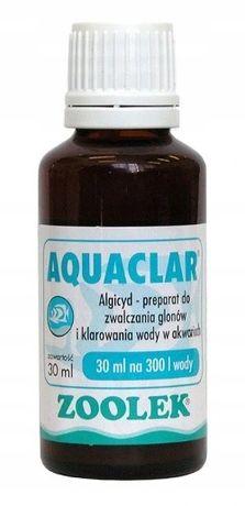 AQUACLAR 30 ml preparat na glony w akwarium ZOOLEK