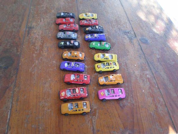 19 carros miniatura