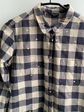 Клетчатая рубашка Topshop