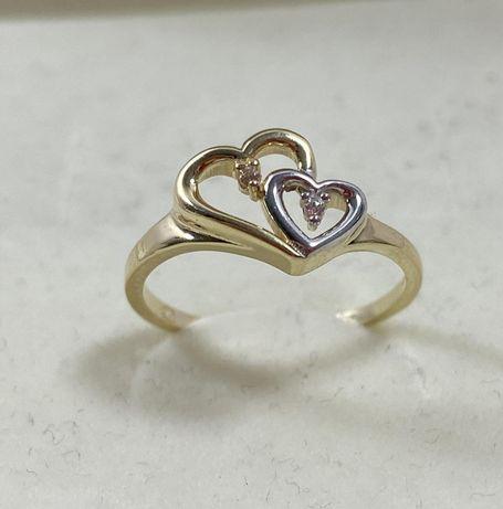 NOWY piękny złoty pierścionek 2,02g / 585 / r. 14