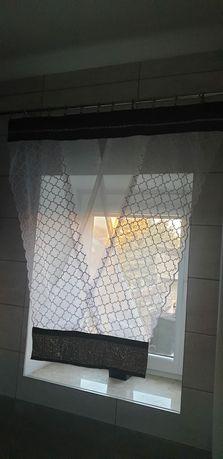 Panel kryształki firanka v-ka