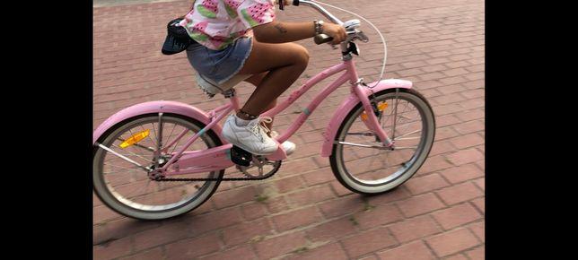 Rower Le Grand Sanibel Kross różowy 20 cali dziewczynka stan idealny