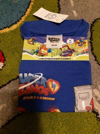 super zings koszulka r.98-104