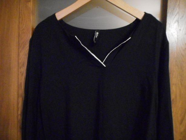 Bluzka z TAKKO ala koszulowa czarna L 40 jak nowa