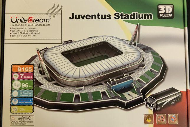 Puzzle 3D Juventus Novo *PORTES GRÁTIS*