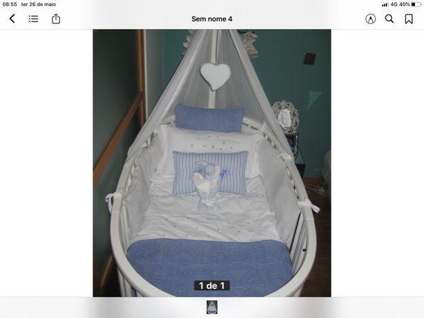 Protector lateral de cama de bebé