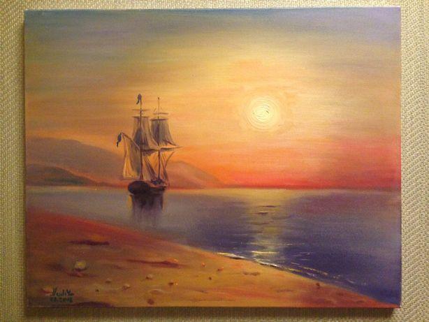 Картина «Золотой закат»