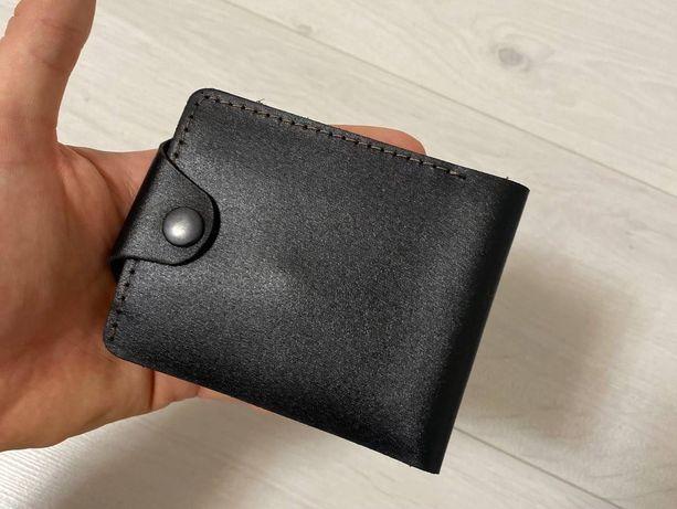Мужское кожаное портмоне кошелёк на подарок