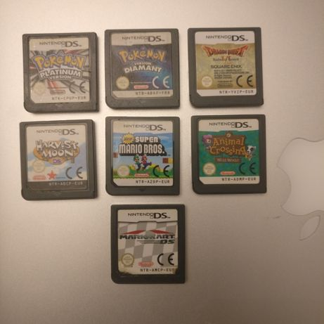 Mario Kart, My sims, Harvest Moon, DS