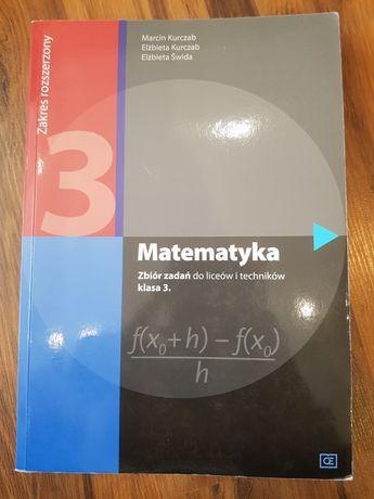 Matematyka zbiór zadań klasa 3 zakres rozszerzony