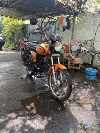 Продам мопед мотоцикл spark 125