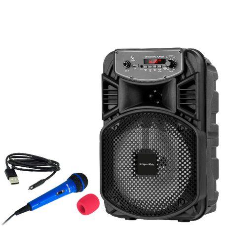 Głośnik Bluetooth z USB + mikrofon oraz gąbka